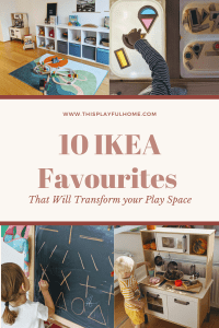 10 IKEA favourites that will transform your play space Pinterest graphic