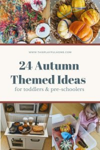 24 Autumn Themed IDEAS pinterest graphic